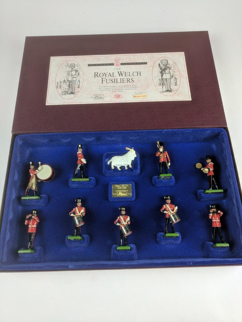 Britains 5191 Royal Welch Fusiliers