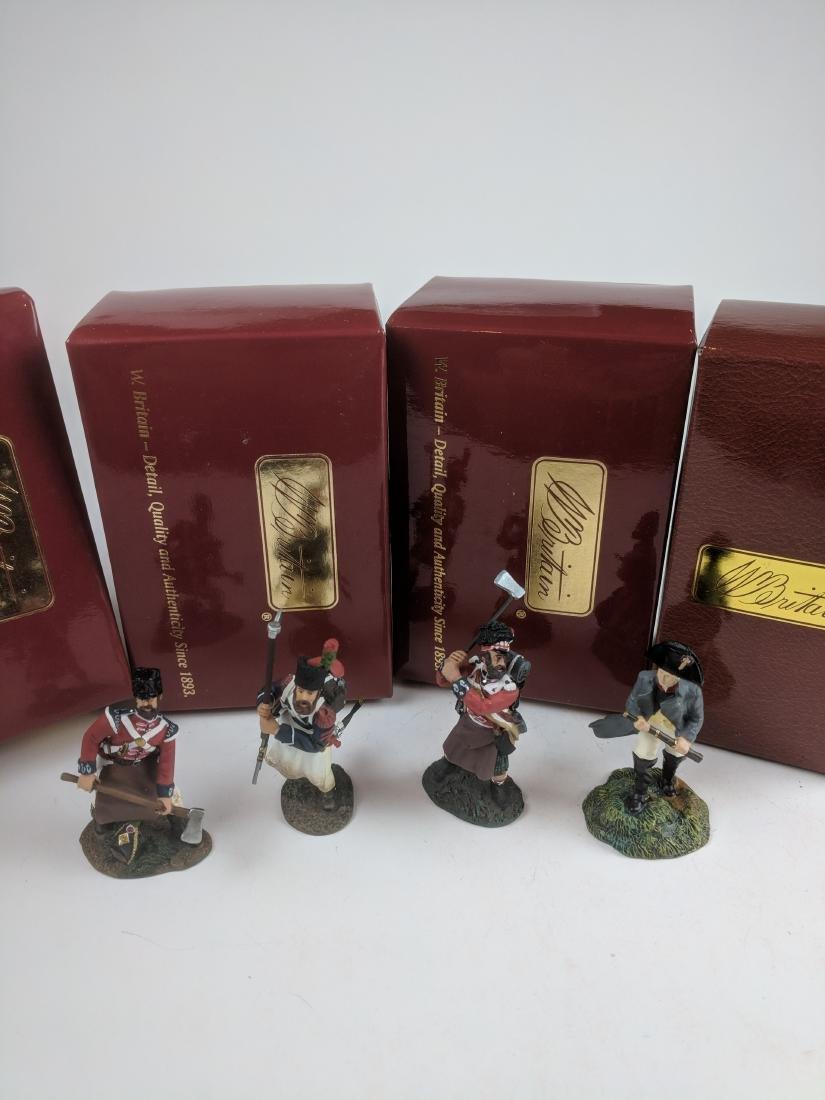 Britains 17610C, 17901C, 50014C and 40408
