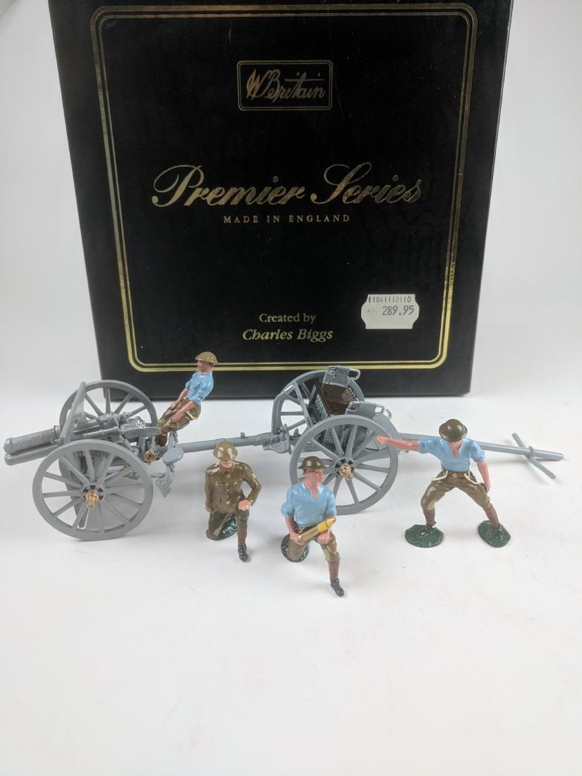 Britains 8919 13 PDR Gun & Limber