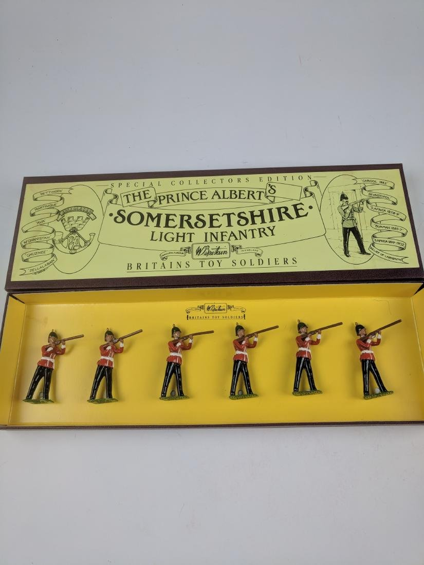 Britains 8804 Somersetshire Light Infantry