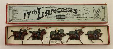 Britains Set #81 17th Lancers