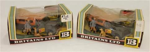 Britains Plastic Lot Set #9576 Farm Land Rover