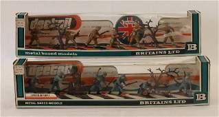 Britains Plastic Lot Detail British German Army