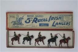 Britains 23 5th Royal Irish Lancers at the halt