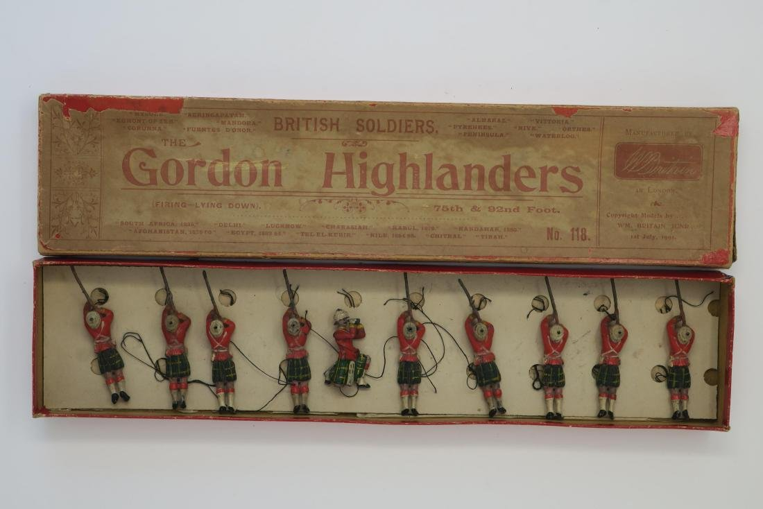Britains #118 Gordon Highlanders lying firing