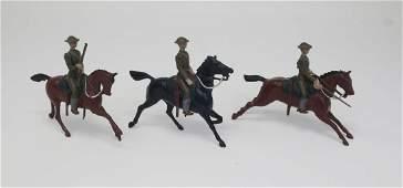 Britains 1917 US Cavalry in steel helmets
