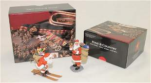 King  Country Santa Claus Issues