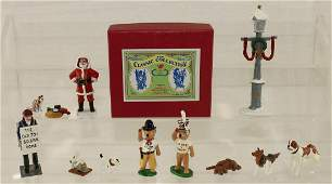 Trophy Lot Father Christmas Teddy Bear Souvenirs