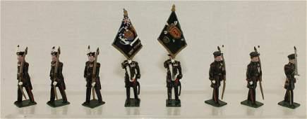 Marlborough Royal Company Archers Colour Party