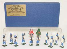 Marlborough Nawanger Regimental Colour Party