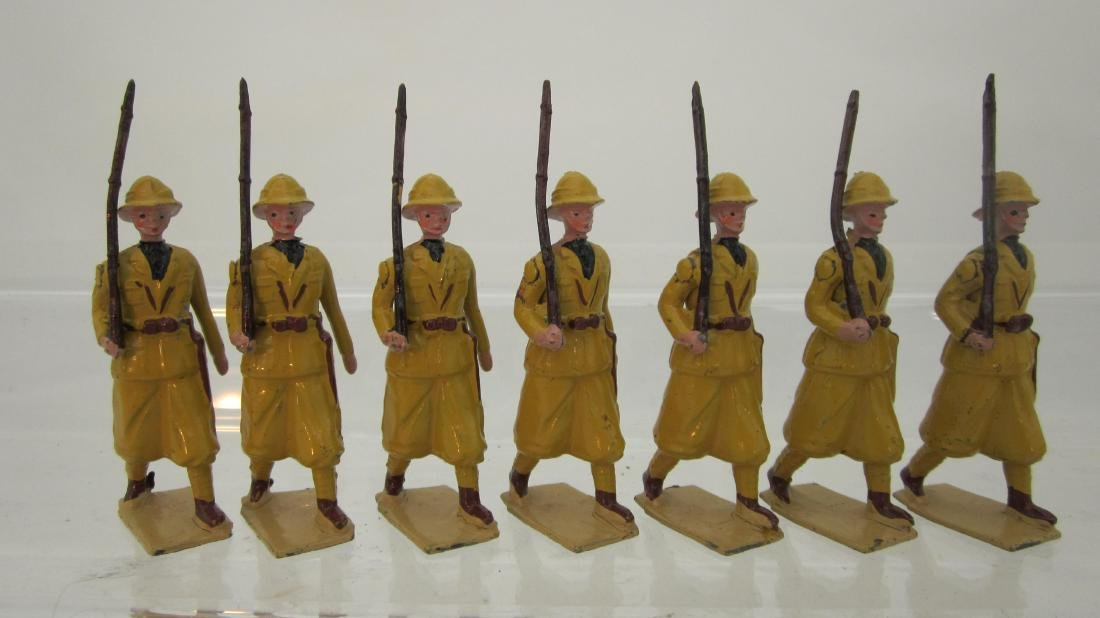 Britains Set #1436 Colonial Italian Infantry