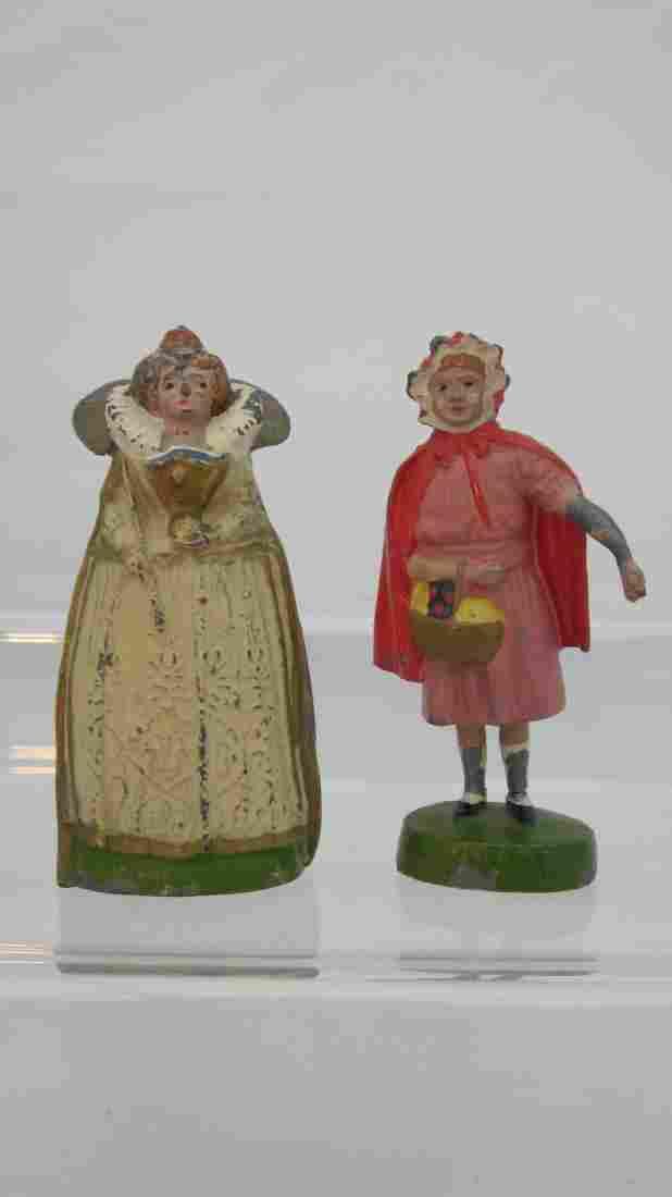 Britains Set #T3 & T4 Madame Tussaud's Figures