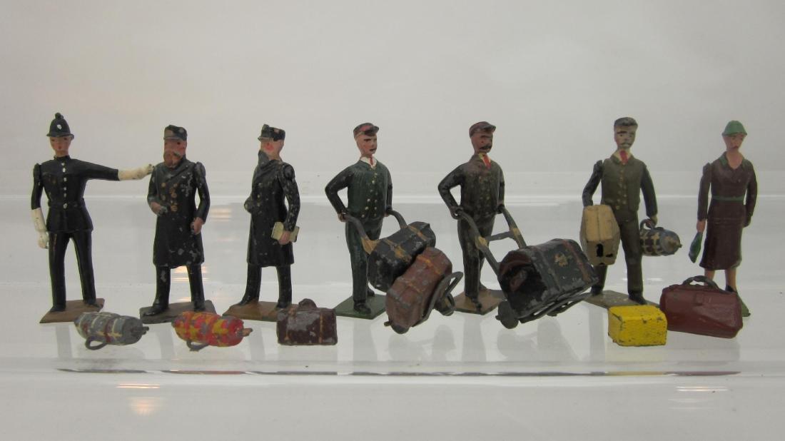 Britains from Set #158 Railway Station Staff