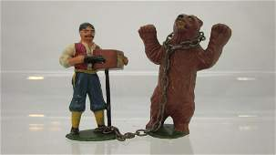 Timpo Organ Grinder with Performing Bear