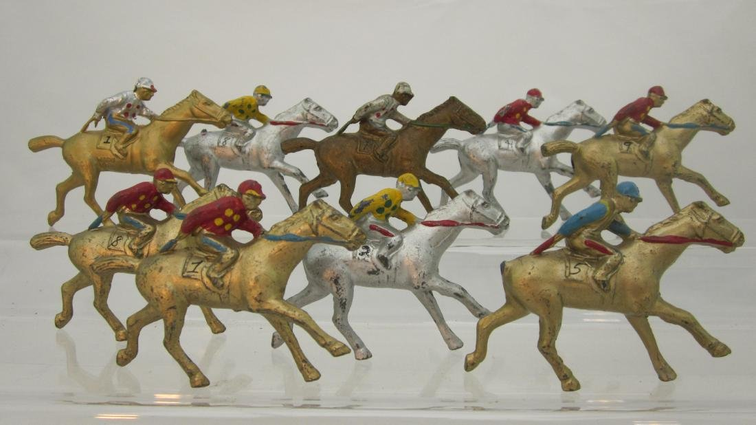 Barclay Dimestore Race Horses Assortment
