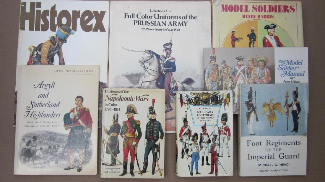 Model Soldier Research Books Assortment