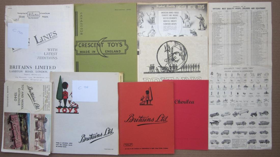 Britains Ltd Original & Reproduction Catalogs