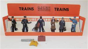 MTH Trains Set #550 Miniature Railroad Figures