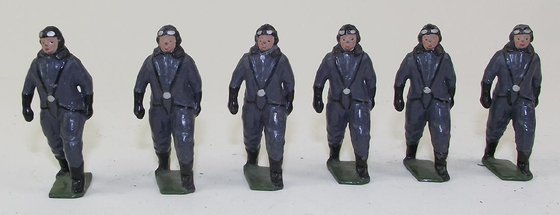 Britains From Set #1895 RARE Luftwaffe Pilots
