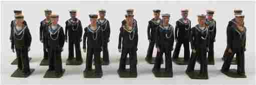 Britains from Set 1510 US Sailors Bluejackets