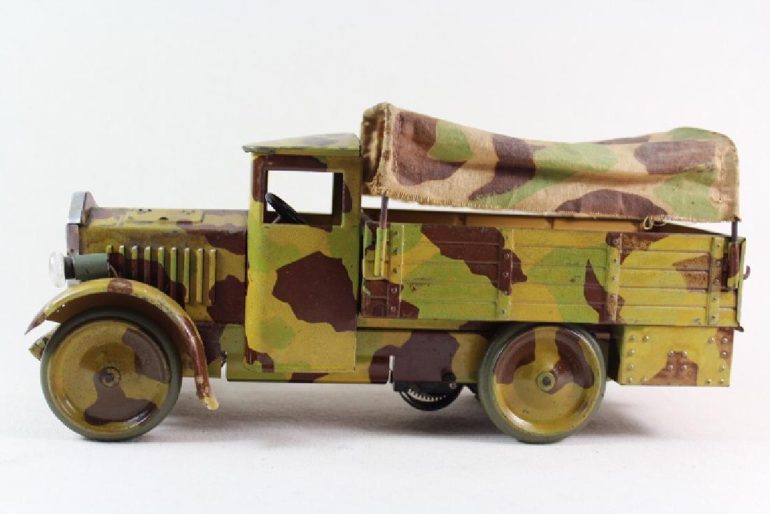Hausser/Elastolin Krupp Supply Truck & Driver