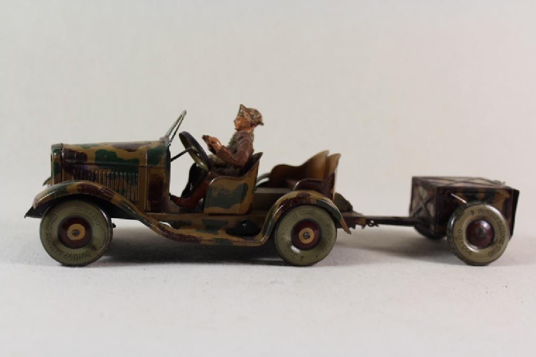 Tippco British Staff Car With Trailer