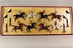 Wm Hocker Types Of The British Empire Polo Match