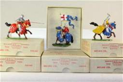 W Britains Knights Of Agincourt Series