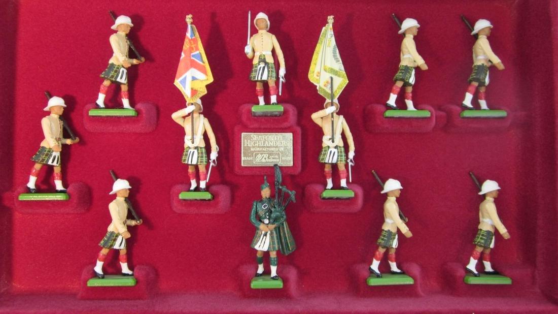 Britains Set #5188 Seaforth Highlanders.