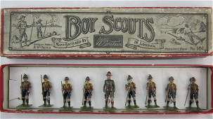Britains Set #161 2nd Version Boy Scouts.