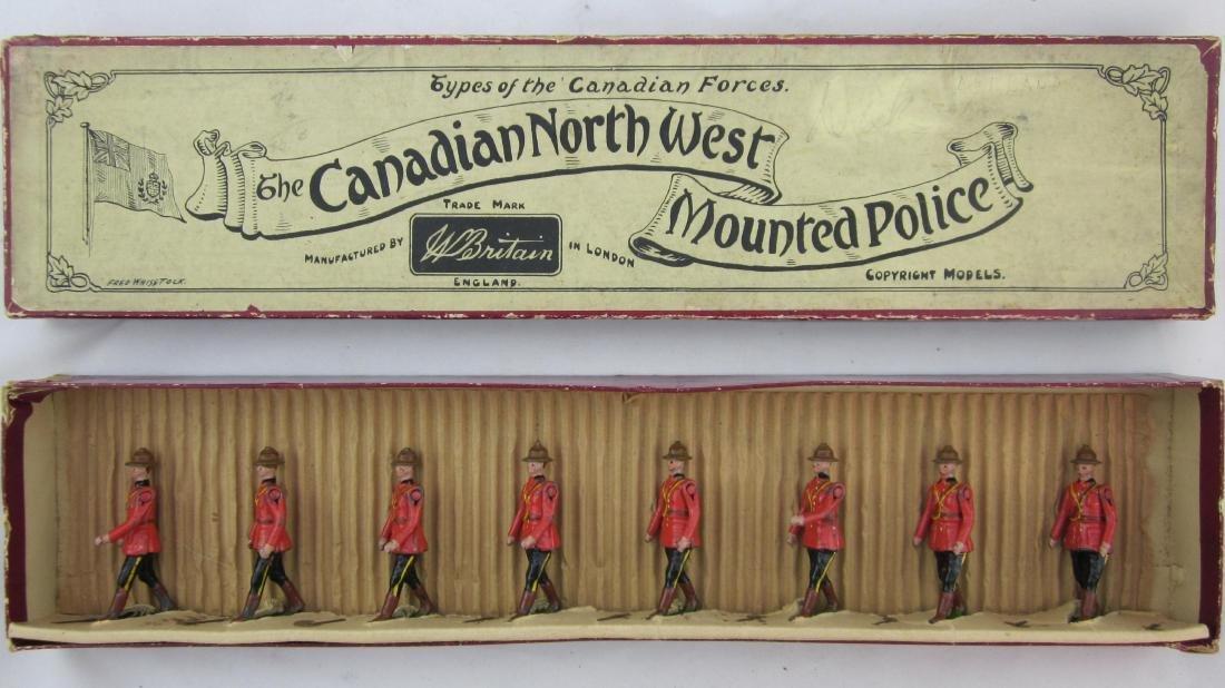 Britains Set #1554 Royal Canadian Mounties.