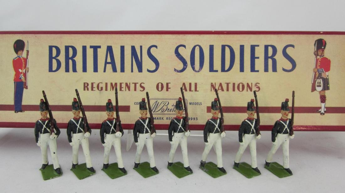 Britains Set #221 Uruguayan Military Cadets.