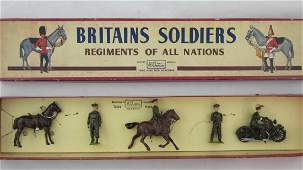 Britains Set 1907 Active Service Staff Officers