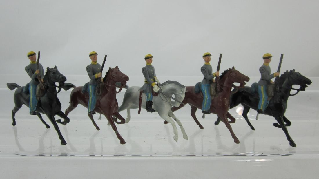 Britains Set#2055 Civil War Confederate Cavalry.