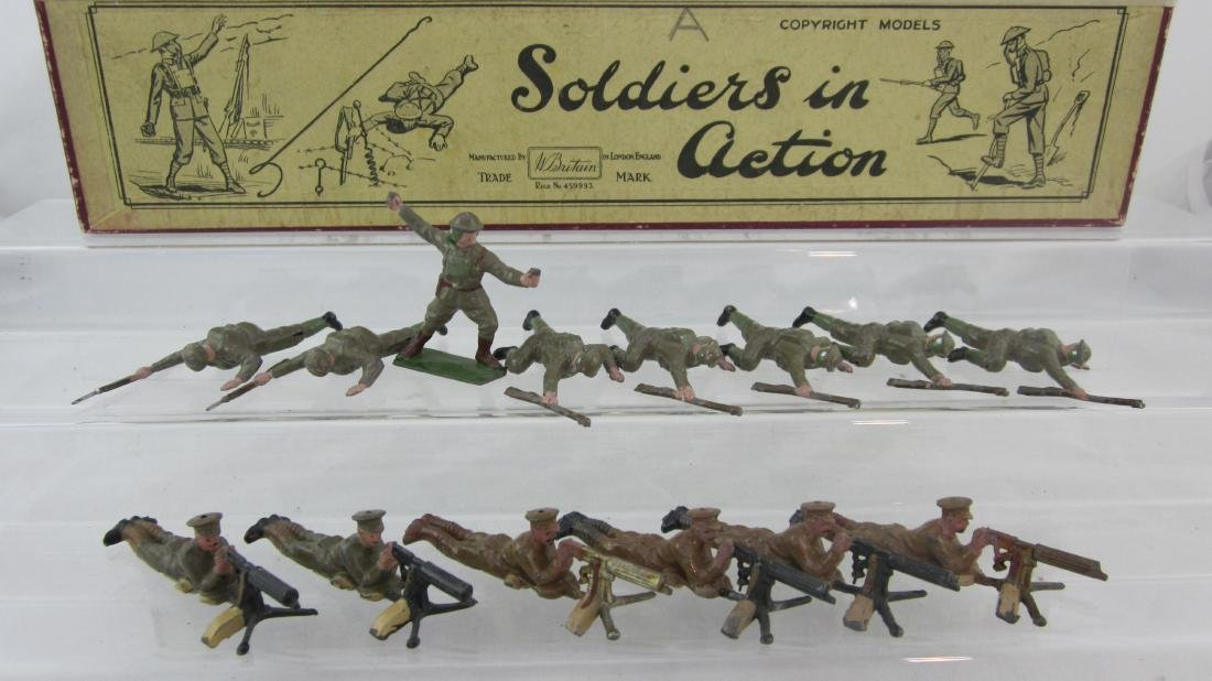 Britains Prewar Set #s 194 & 1613 Assortment.