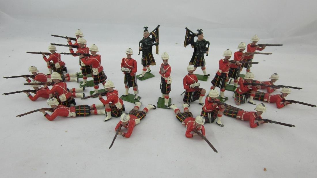 Britains Set #89 Cameron Highlander Display.