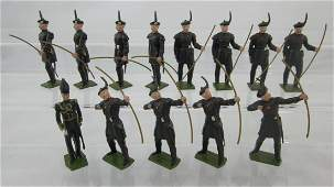 Britains Set 2079 Royal Archers With Officer