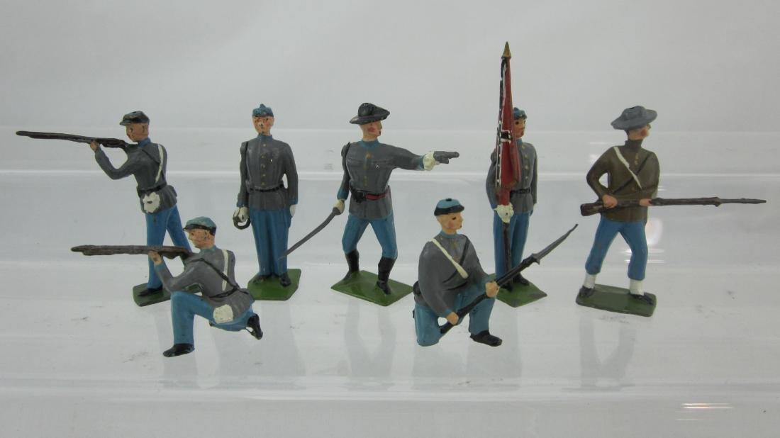 Britains Set #2060 Civil War Rebel Infantry.