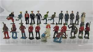 Britains 2nd Grade Rare Assorted Infantry