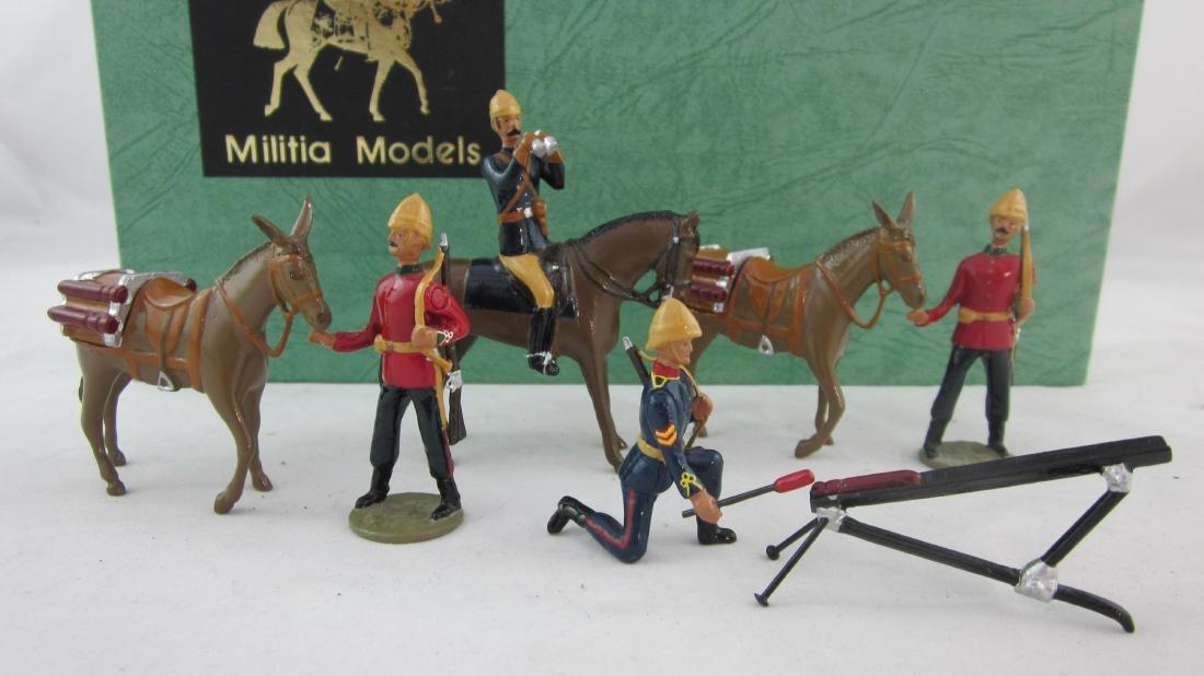 Militia Models Hale's Rocket Battery.