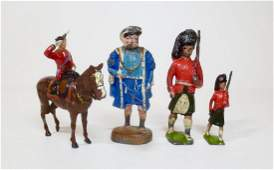 Britains Unusual Single Figure Assortment