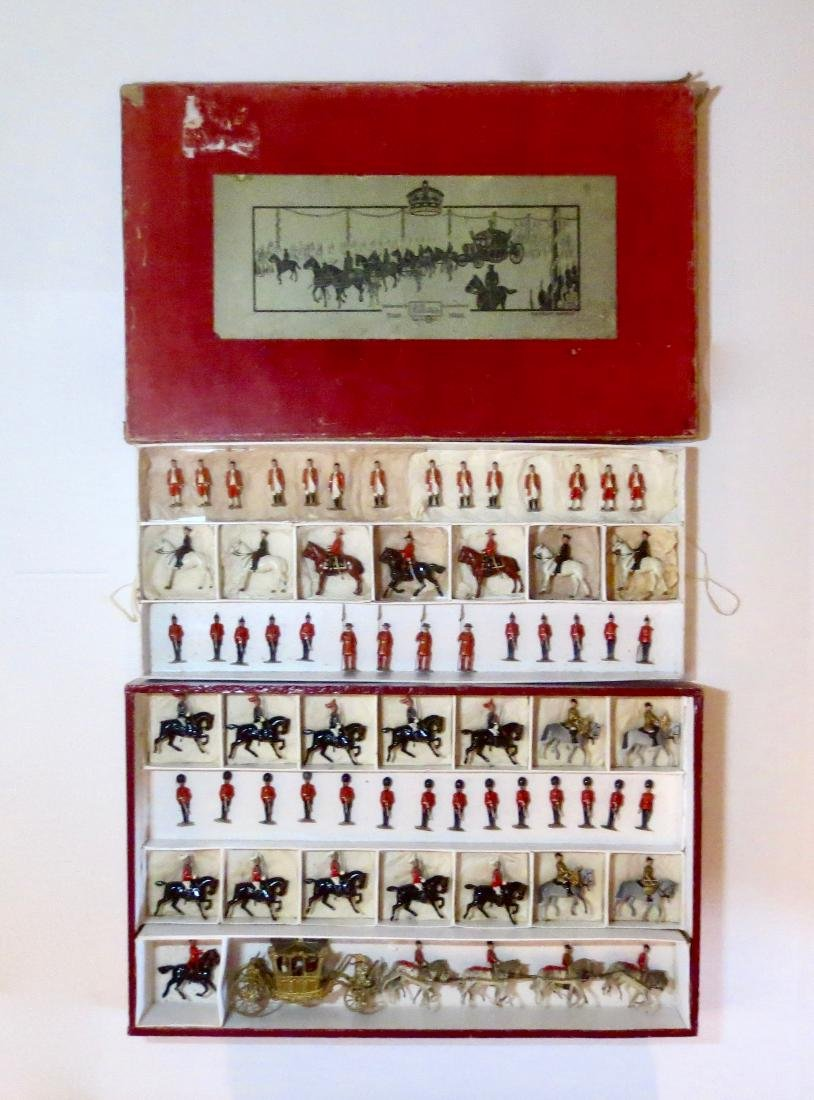Britains #1477 RARE Coronation Display Set