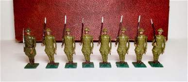 Warren VERY RARE US Infantry at Attention Set