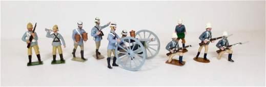 Various Makers Camel Corps with RARE Gatling Gun
