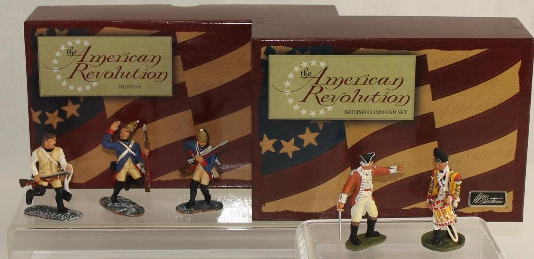 Britains Lot British Army and Hessians