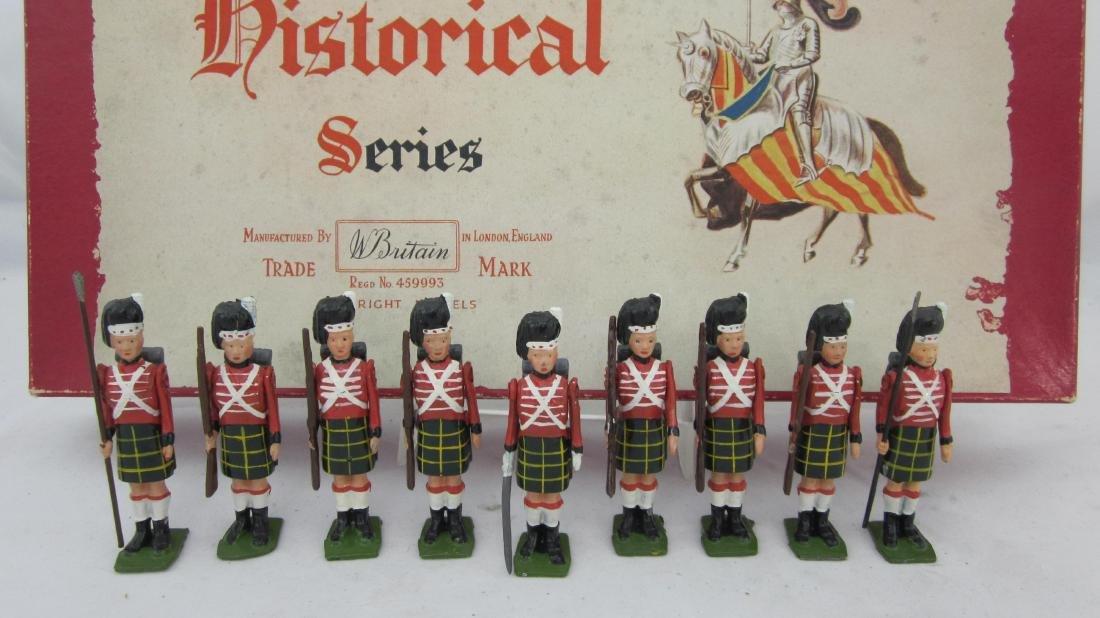 Britains Set #1518 Waterloo Highlanders.