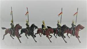 Britains Set #81, 17th Lancers, Foreign Service.
