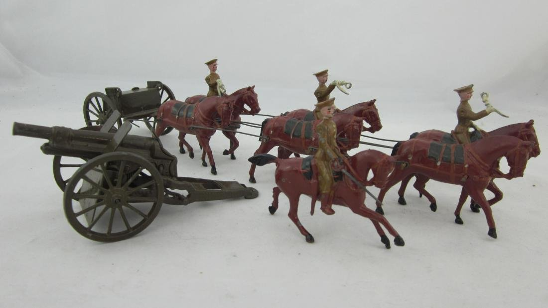 Britains Set #1440 Royal Field Artillery At Walk
