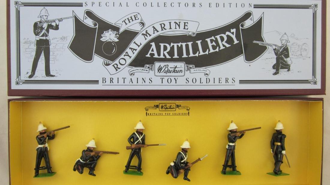 Britains Set #8826 Royal Marine Artillery.