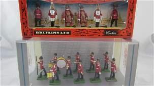 Britains Set 8703 Middlesex Regimental Band